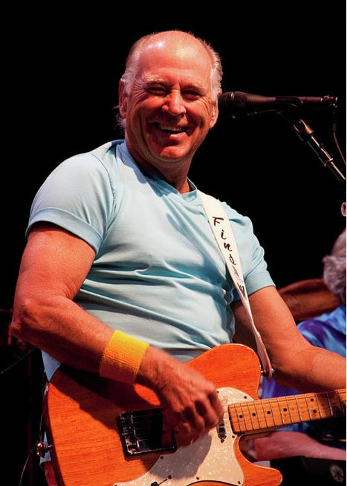 Jimmy Buffett Greeting Card featuring the photograph Jimmy Buffett 5626 by Timothy Bischoff