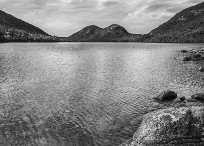Acadia Greeting Card featuring the photograph Jordan Pond Acadia National Park Maine. by Diane Diederich