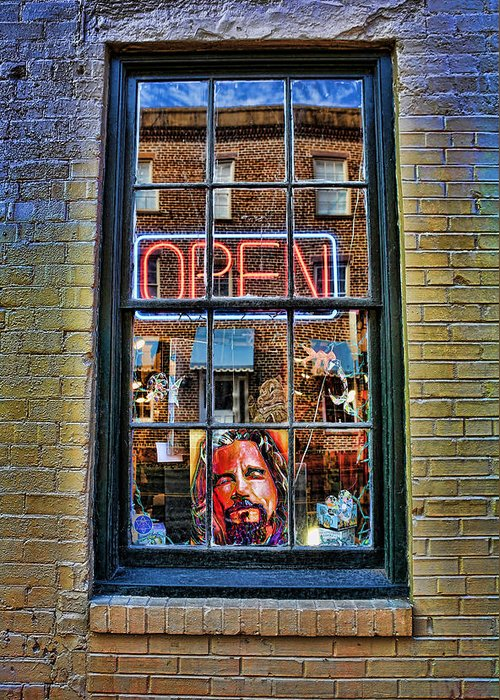 The Dude Abides Greeting Card featuring the photograph Just A Pinch Of Psychedelic by Lee Dos Santos