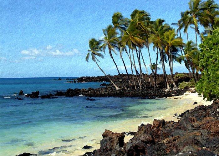 Hawaii Greeting Card featuring the photograph Kekaha Kai II by Kurt Van Wagner