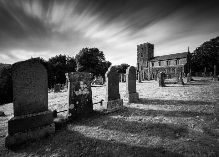 Kilmartin Parish Church Greeting Card featuring the photograph Kilmartin Parish Church by Dave Bowman
