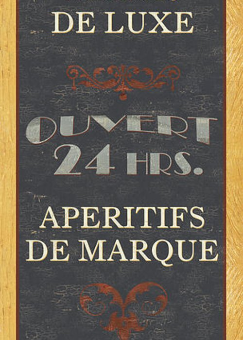 Cuisine Greeting Card featuring the painting La Soupe Du Jour by Debbie DeWitt