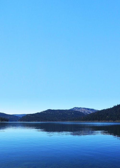 Lake Greeting Card featuring the photograph Lake In California by Dean Drobot