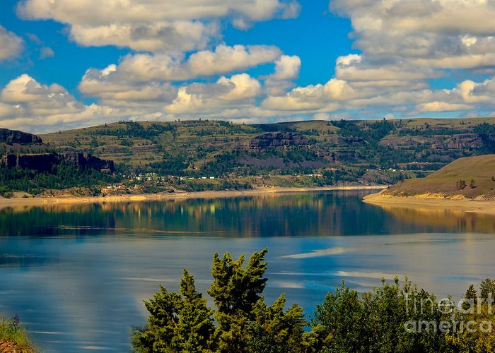 Lake Greeting Card featuring the photograph Lake Roosevelt by Robert Bales