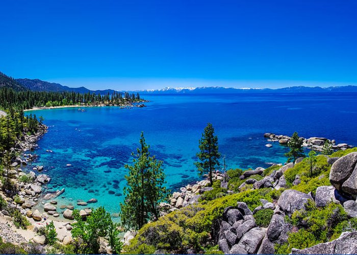 America Greeting Card featuring the photograph Lake Tahoe Summerscape by Scott McGuire