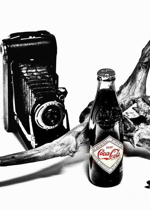 Limited Edition Bottles Greeting Card featuring the photograph Limited Edition Coke - No.008 by Joe Finney