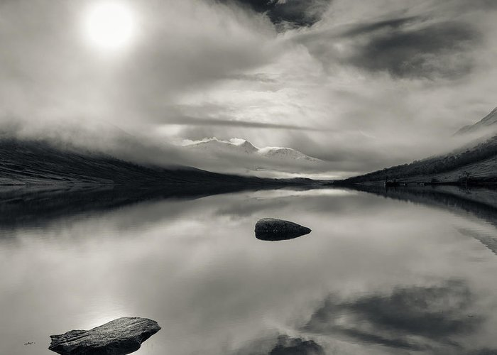 Loch Etive Greeting Card featuring the photograph Loch Etive by Dave Bowman