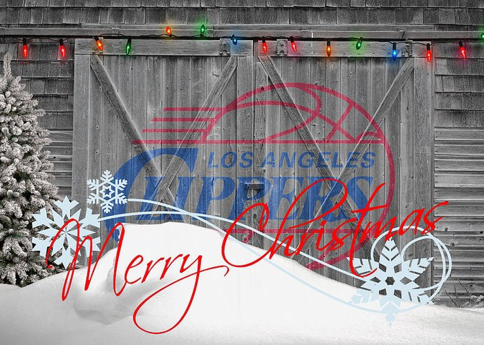 Clippers Greeting Card featuring the photograph Los Angeles Clippers by Joe Hamilton