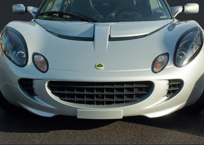 Lotus Elise Greeting Card featuring the photograph Lotus Elise by Jill Reger