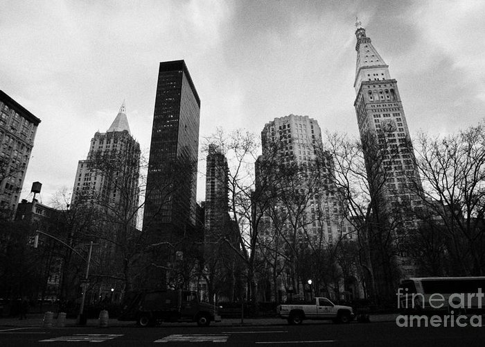 Usa Greeting Card featuring the photograph Madison Square Park Flatiron District New York City by Joe Fox