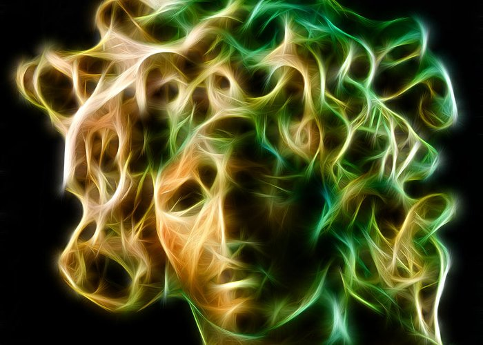 Medusa Greeting Card featuring the photograph Medusa by Taylan Soyturk