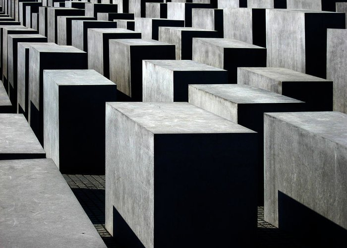 Monument Greeting Card featuring the photograph Memorial To The Murdered Jews Of Europe by RicardMN Photography