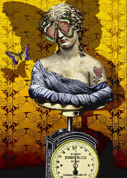 Surrealism Greeting Card featuring the digital art Metamorphosis by Larry Butterworth