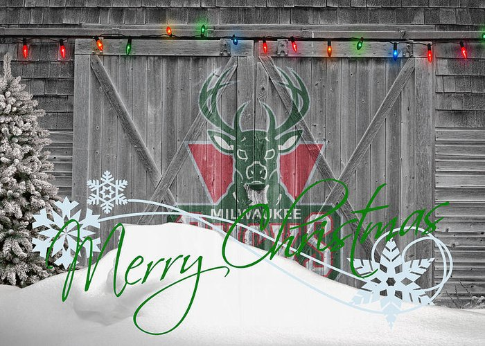 Bucks Greeting Card featuring the photograph Milwaukee Bucks by Joe Hamilton