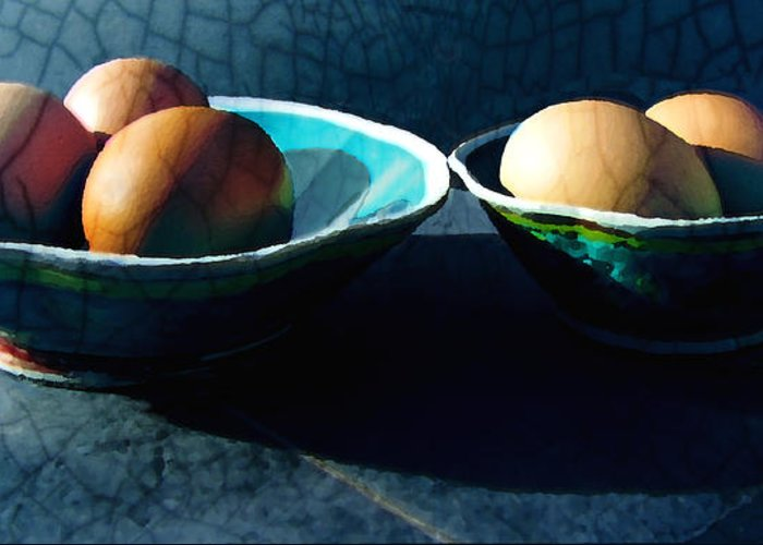 Eggs Greeting Card featuring the photograph Monday Morning Blues by Ann Powell