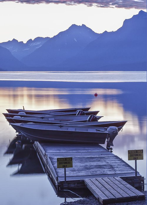 Art Greeting Card featuring the photograph Mood Indigo by Jon Glaser