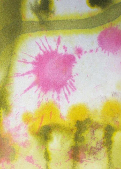 Watercolor Greeting Card featuring the painting Morning Has Broken by Malinda Kopec
