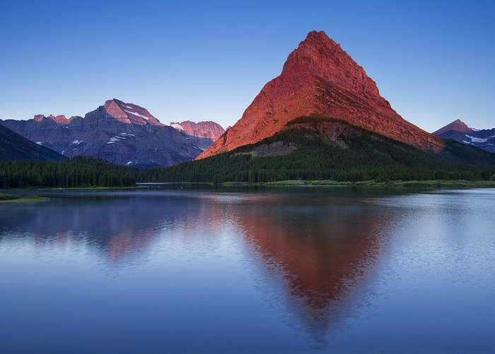 National Park Greeting Card featuring the photograph Morning Reflections by Andrew Soundarajan