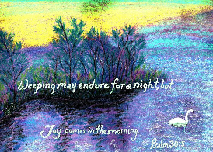 Swan Greeting Card featuring the painting Morning Swan by Catherine Saldana