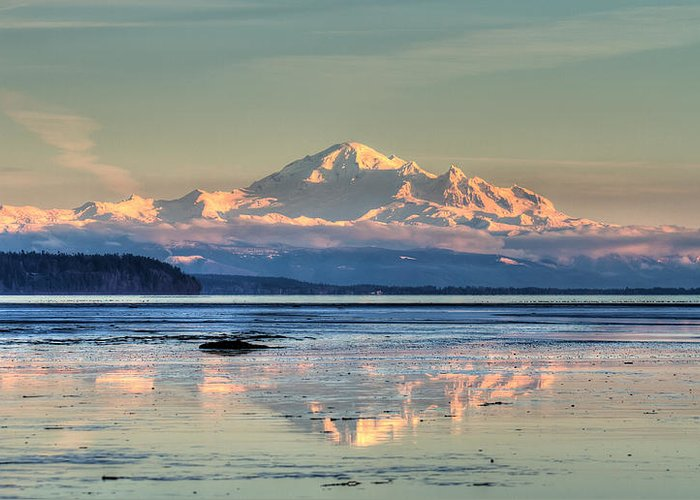 Mount Greeting Card featuring the photograph Mount Baker North Cascades National Park by Pierre Leclerc Photography
