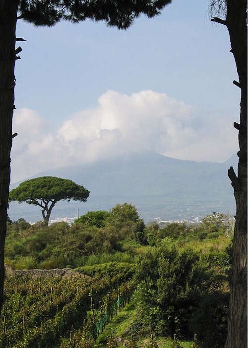 Europe Greeting Card featuring the photograph Mount Vesuvius by Adam Romanowicz
