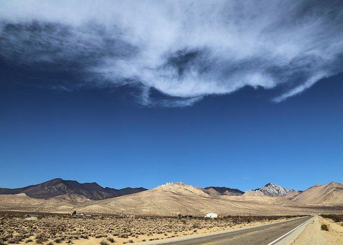 Mountain Range Of Sierra Nevada Greeting Card featuring the photograph Mountain Range Of Sierra Nevada by Viktor Savchenko