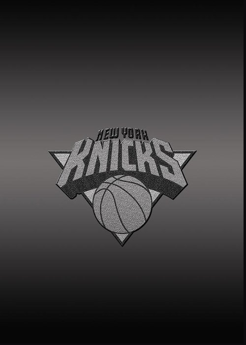 Nba Greeting Card featuring the photograph New York Knicks by Paulo Goncalves