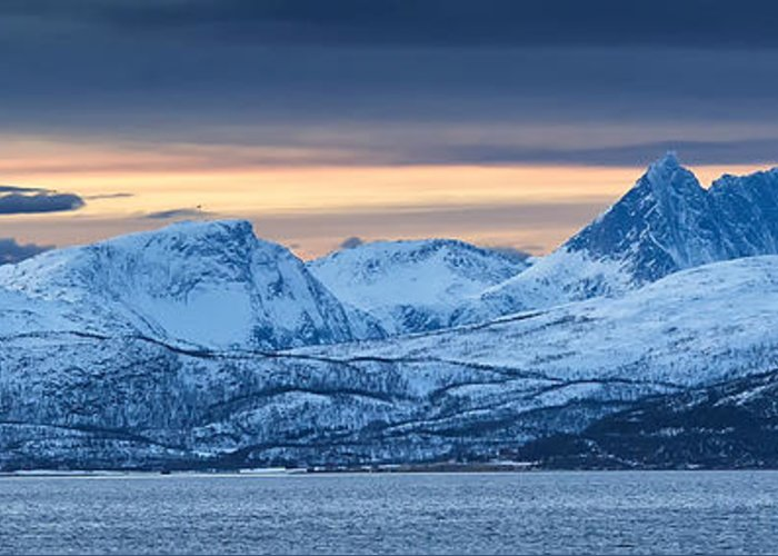 Norway Greeting Card featuring the photograph Norwegian Coast by Wade Aiken