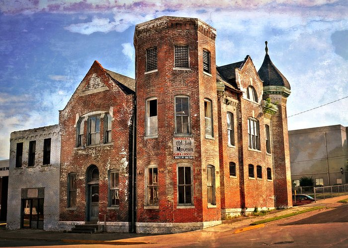 Old Buildings Greeting Card featuring the photograph Old Mill Museum by Marty Koch