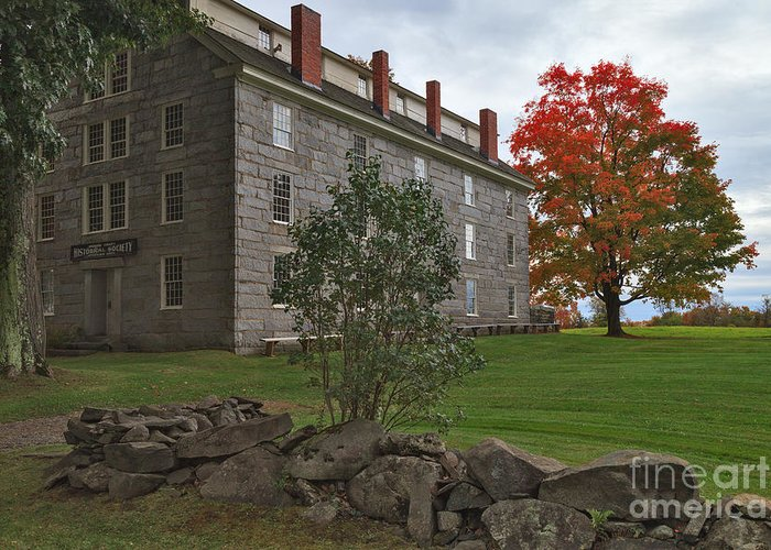 Old Stone House Greeting Card featuring the photograph Old Stone House by Charles Kozierok