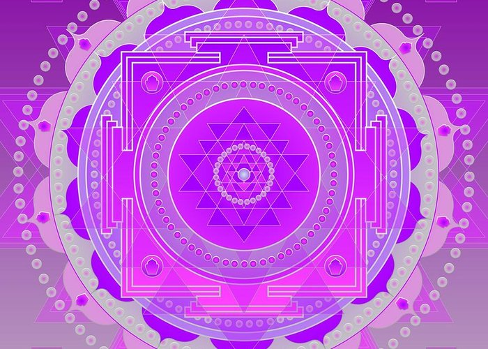 Gifts For Her Greeting Card featuring the digital art Oneness And Unity by Sarah Niebank