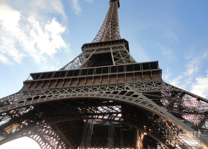 Paris France Greeting Card featuring the photograph Paris France by Gregory Dyer