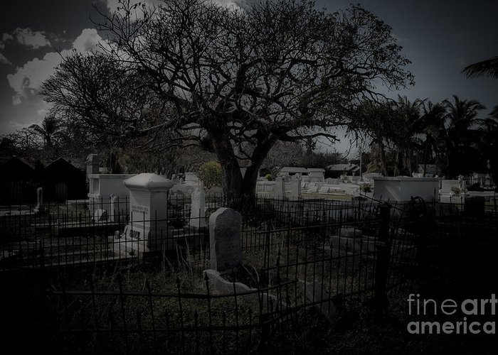 Cemetery Greeting Card featuring the photograph Passage by Kathi Shotwell
