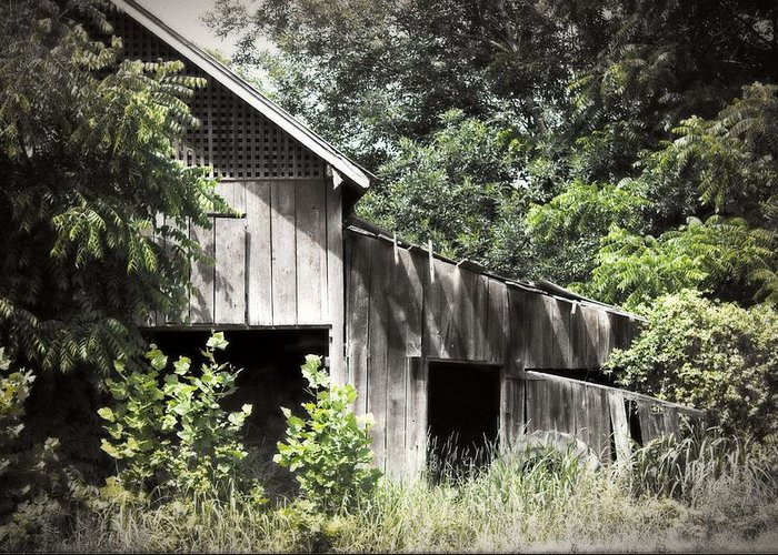Building Greeting Card featuring the photograph Passing Of Time by Tom Gari Gallery-Three-Photography