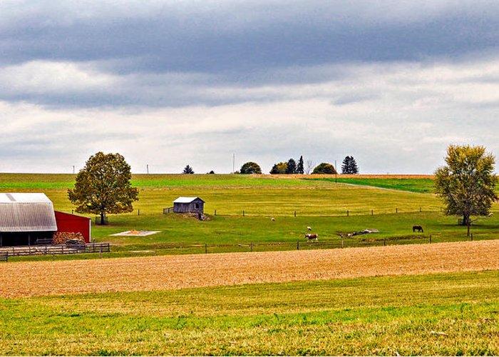 Pennsylvania Greeting Card featuring the photograph Pastoral Pennsylvania by Steve Harrington