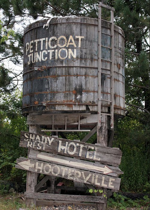 Petticoat Junction Greeting Card featuring the photograph Petticoat Junction by Kristin Elmquist