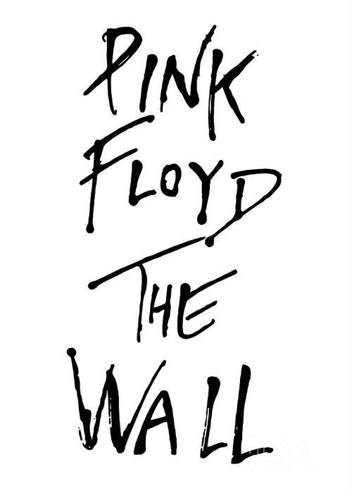 Pink Floyd Greeting Card featuring the digital art Pink Floyd No.01 by Caio Caldas