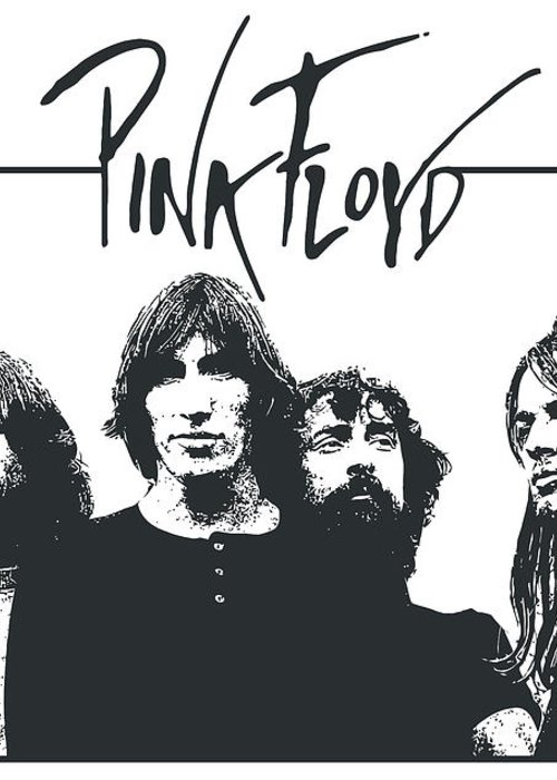 Pink Floyd Greeting Card featuring the digital art Pink Floyd No.05 by Unknow