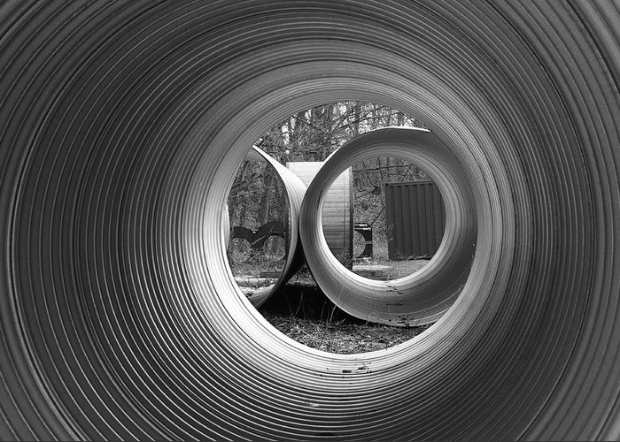 Pipe Greeting Card featuring the photograph Pipe Dream by Luke Moore