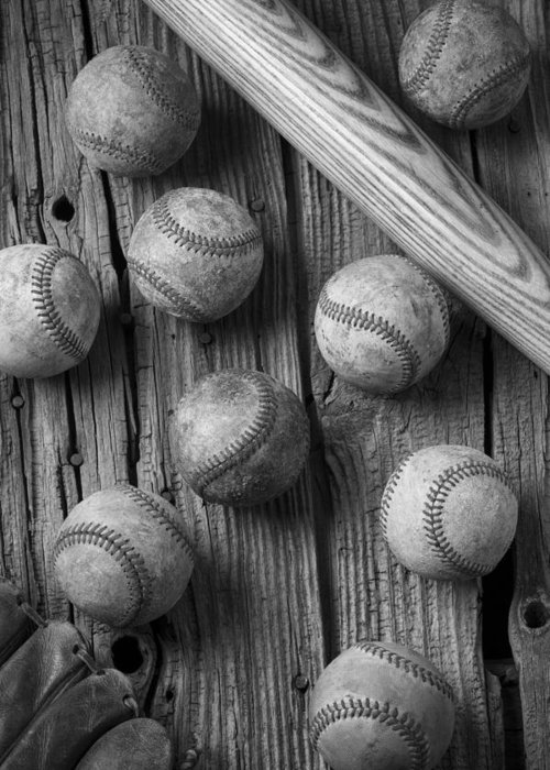 Baseball Memories Greeting Card featuring the photograph Play Ball by Garry Gay