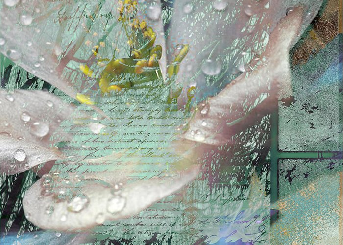 Greeting Card featuring the mixed media Pop V by Yanni Theodorou