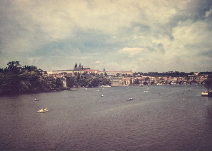 Prague Greeting Card featuring the photograph Prague Days II by Taylan Soyturk