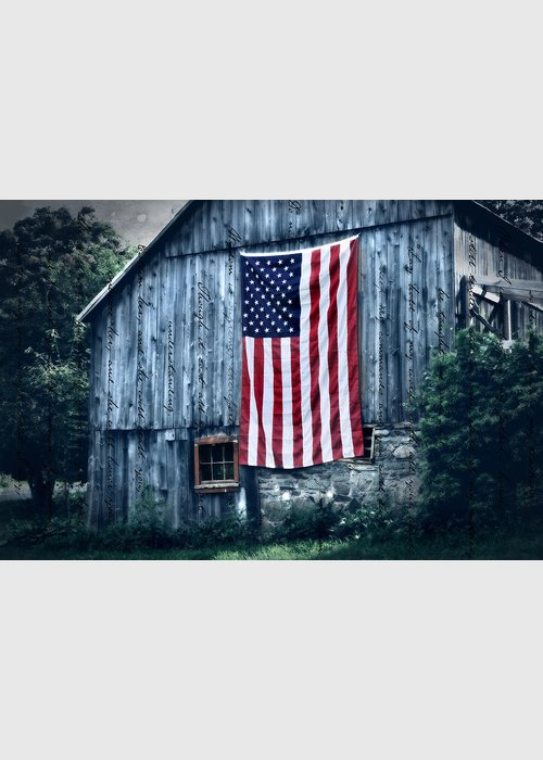 Barn Greeting Card featuring the photograph Pride by Thomas Schoeller
