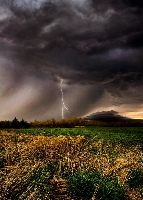Storm Greeting Card featuring the photograph Profound by Phil Koch