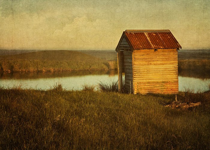 Shack Greeting Card featuring the photograph Ramshackle by Amy Weiss