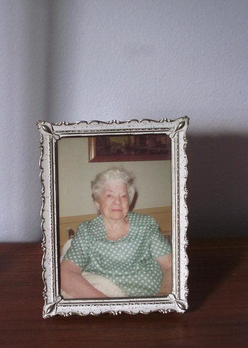 Guy Ricketts Photography Greeting Card featuring the photograph Remembering Grandma by Guy Ricketts