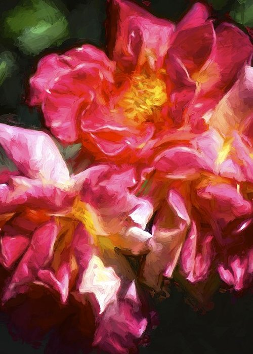 Floral Greeting Card featuring the photograph Rose 115 by Pamela Cooper
