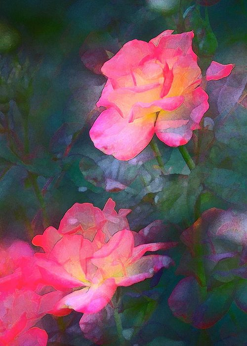 Floral Greeting Card featuring the photograph Rose 194 by Pamela Cooper