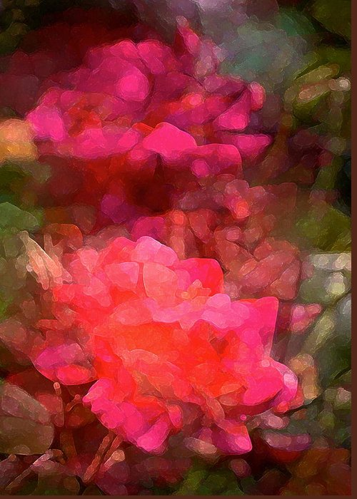 Floral Greeting Card featuring the photograph Rose 198 by Pamela Cooper