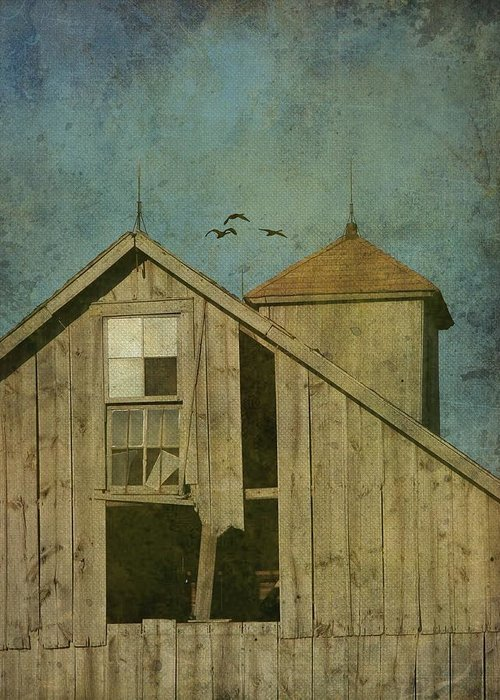 Photography Greeting Card featuring the photograph Rural Iowa Barn 5 by Cassie Peters
